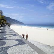 Rio de janeiro spiaggia