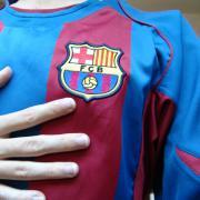 la maglia del Barcelona