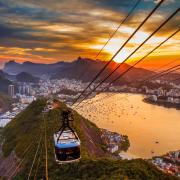 Rio de janeiro sunset